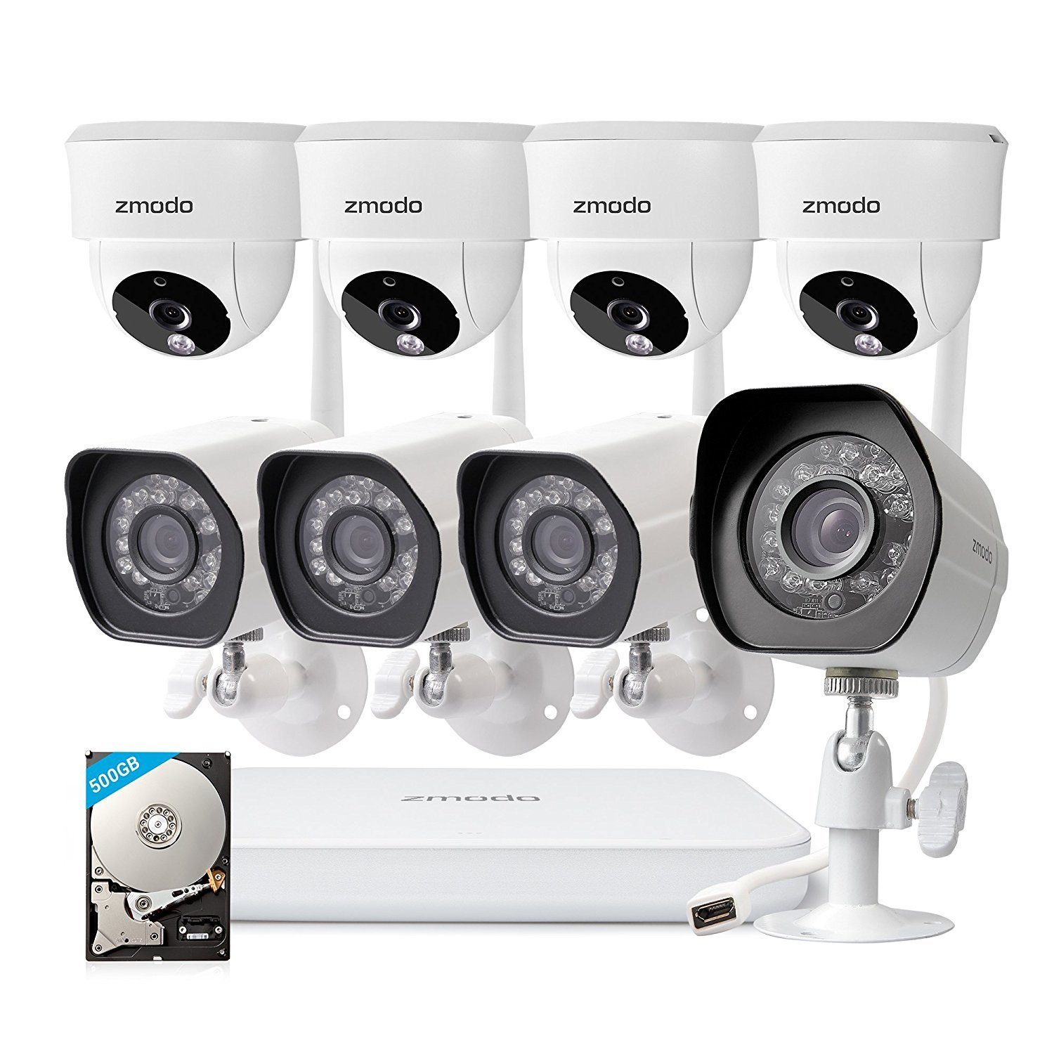 Zmodo Wireless Home Security Camera System