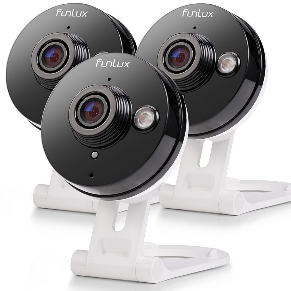 Funlux wireless Two-Way Audio Home Security Camera (3 Pack)