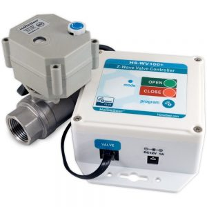 "HomeSeer HS-WV100+ 3/4"" Z-Wave Plus Water Valve"
