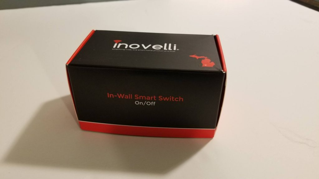 Inovelli switch unopened package